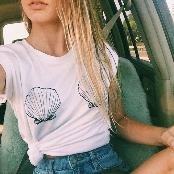 Slouchy Shell Tee