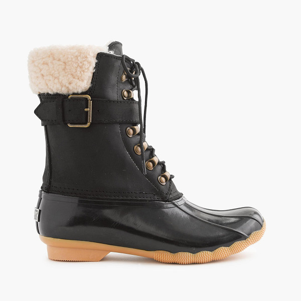 Sperry x J Crew Shearwater Buckle Boots
