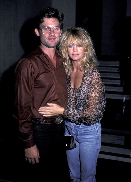 1983: Goldie Hawn And Kurt Russell