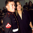 When she kept her promise and went to the Marine Corps Ball.