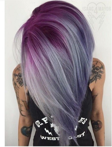 Amethyst  Fall Hair Color Ideas Straight From Pinterest  Livingly