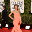 Jessica Alba in Oscar de la Renta at the 2013 Golden Globe Awards