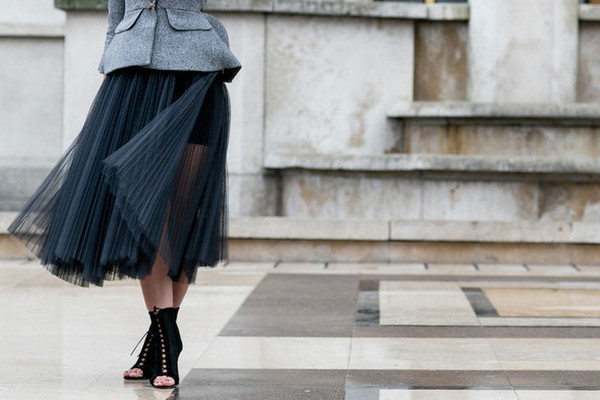 What to Wear: With a Tulle Skirt