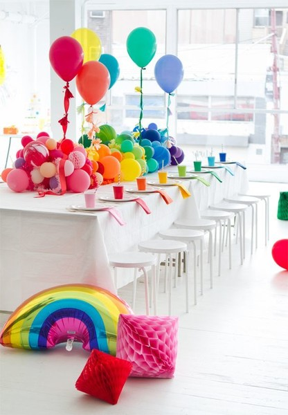 balloon table runner the best birthday party ideas for kids livingly