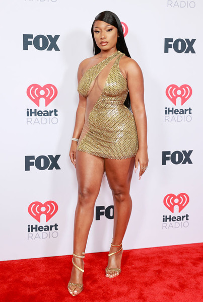 Megan Thee Stallion At The 2021 iHeart Music Awards