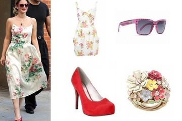 Shop This: Drew Barrymore's Sweet Summer Style
