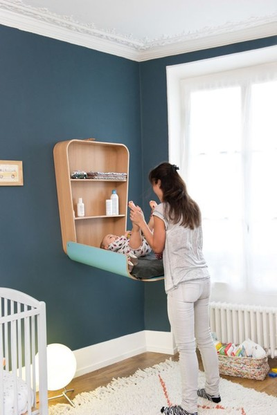 Try a modern changing table