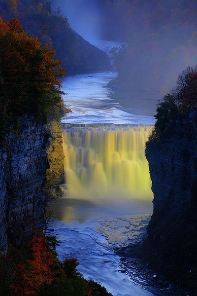 The Middle Falls, New York, U.S.