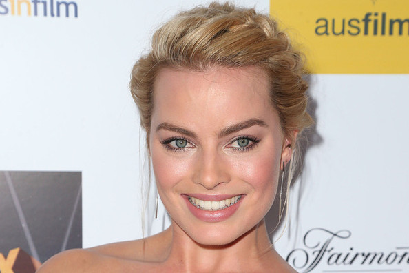 Hair Envy: Margot Robbie's Perfectly Plaited Bun