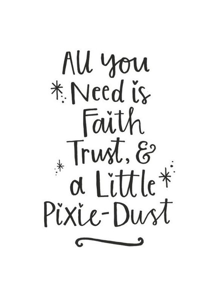 And a Little Pixie-Dust