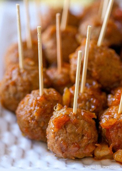 BBQ Pineapple Meatballs