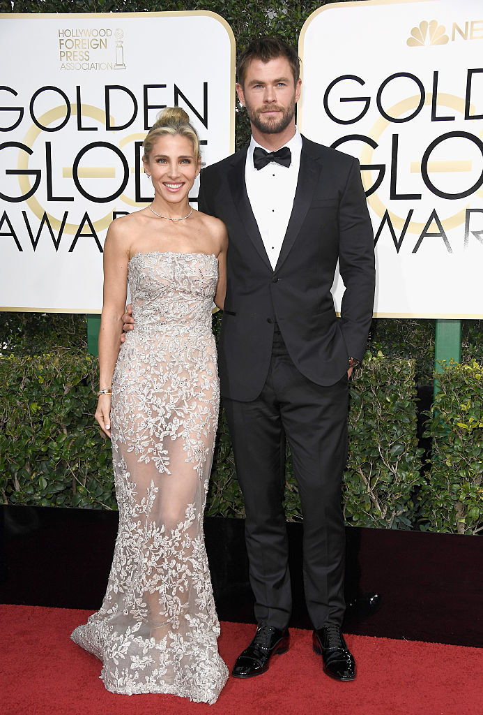 Chris Hemsworth And Elsa Pataky - Celebrity Couples with Extreme Height Differences - Livingly