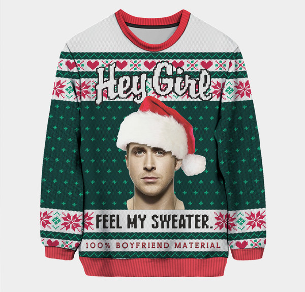 Hey Girl, Feel My Sweater Pullover - The Ultimate Ugly Christmas ...