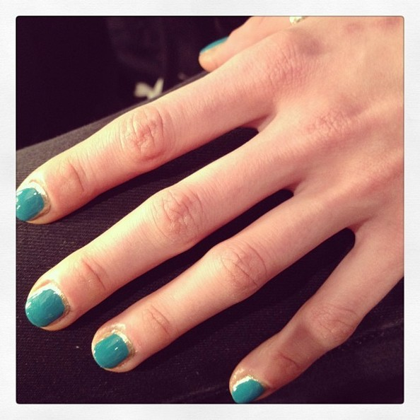 Tracy Reese, Fall 2013 Nails