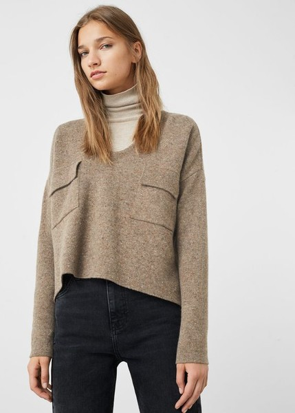 Add A Turtleneck Under Your Cropped Sweaters