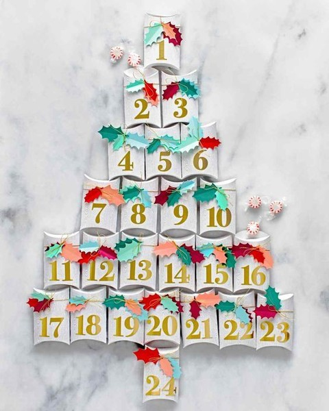 Gift Box Advent Calendar