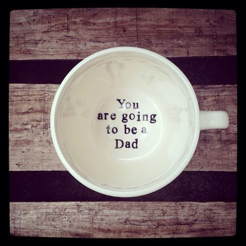 Make sure Dad gets his coffee first!