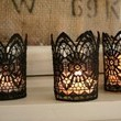 Gothic Lace Candles