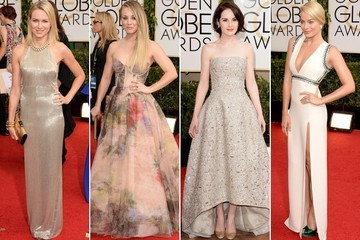 Bridal Inspiration From The Golden Globes