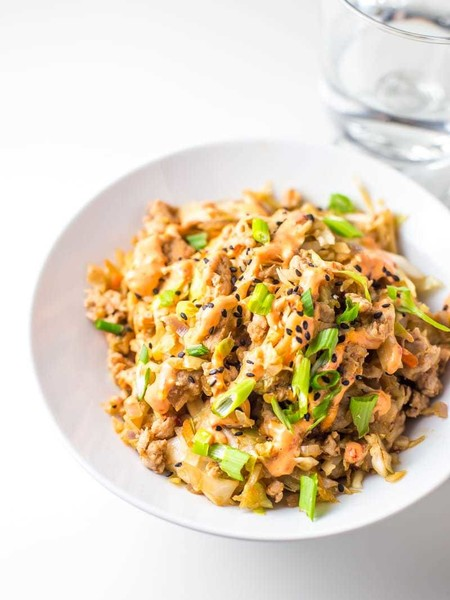 Satisfy Your Chinese Craving With Egg Roll In A Bowl
