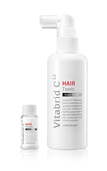 Vitabrid C¹² HAIR Tonic Scalp Relief Set