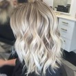 Ash Blonde Color With Silver Highlights