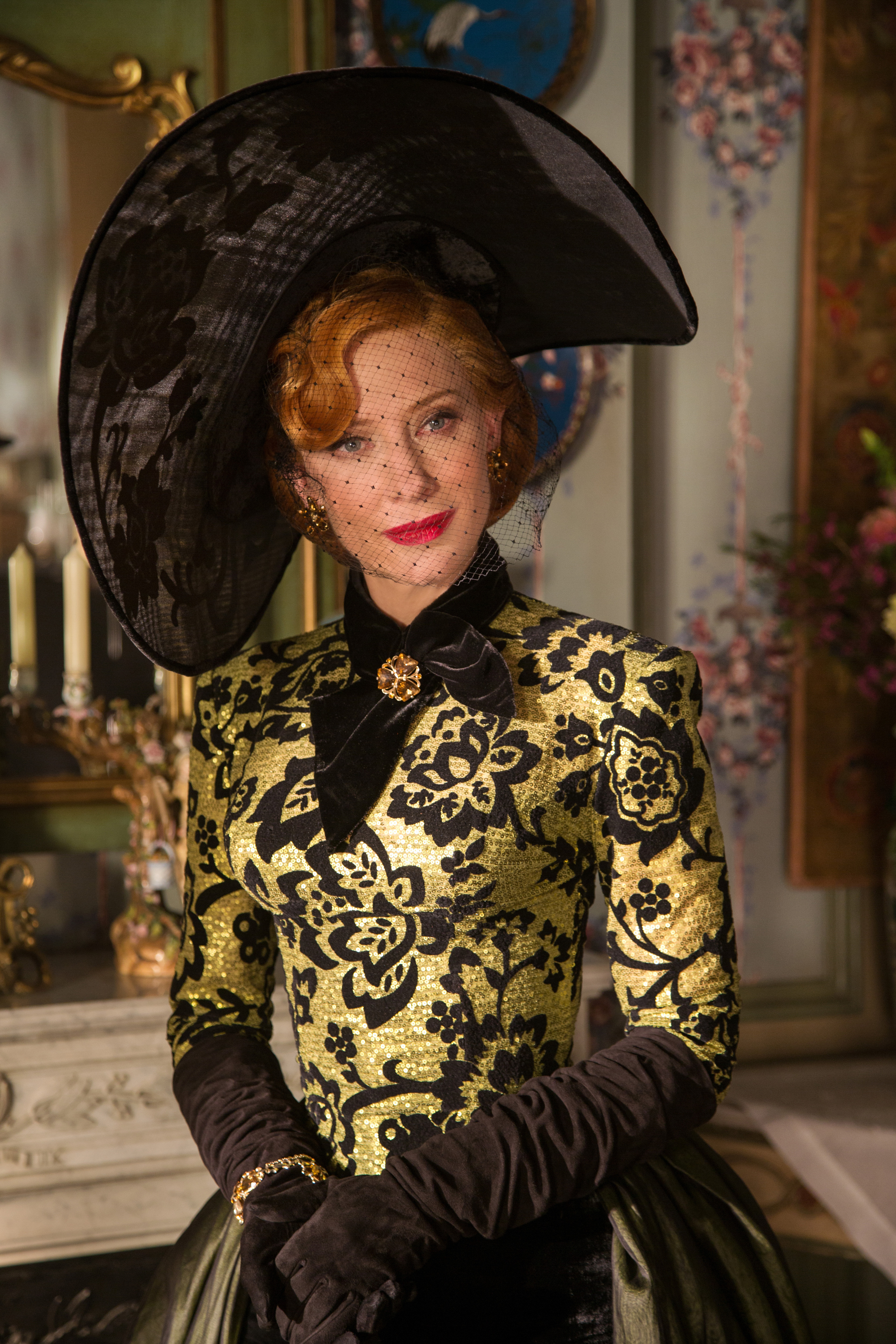 Costume Designer Sandy Powell On Bringing the Magical Cinderella Gowns to Life