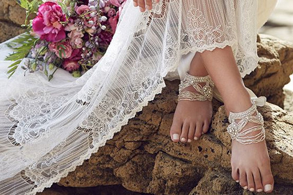 These Barefoot Shoes Will Make You Want a Beach Wedding