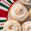 Melt-In-Your-Mouth Spiked Eggnog Cookies