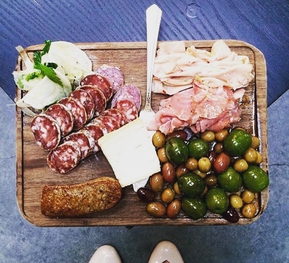 Charcuterie at Olympia Provisions