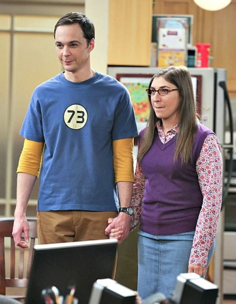 Sheldon and Amy from 'The Big Bang Theory'