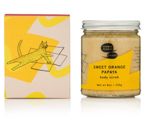 Meow Meow Tweet Tweet Sweet Orange Papaya Body Scrub