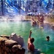 Strawberry Park Hot Springs in Steamboat Springs, Colorado