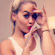 Rita Ora's Feather Finger