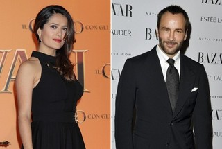 Salma Hayek and Tom Ford Win Coveted Beauty Awards