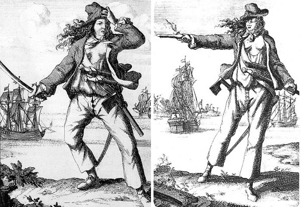 Mary Read And Anne Bonny