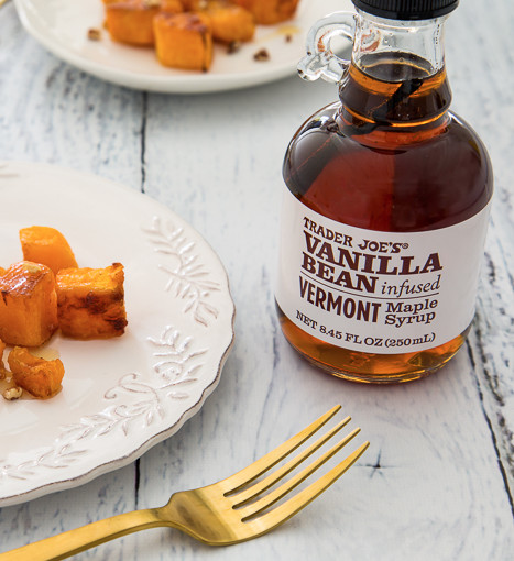 Vanilla Bean Infused Vermont Maple Syrup