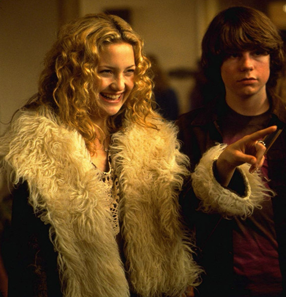 Penny Lane's Suede Shearling Jacket