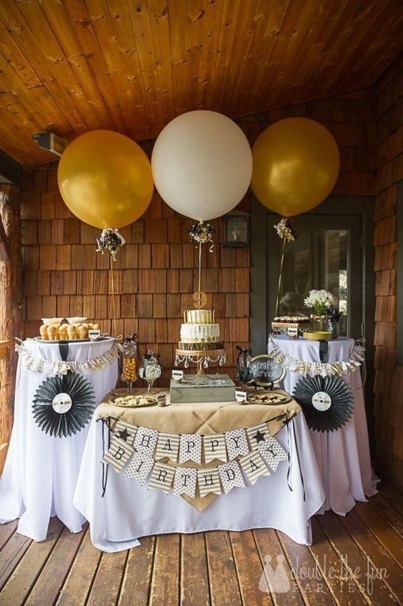 Golden girl fun and creative 50th birthday party ideas for 35th birthday decoration ideas