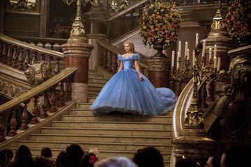 Costume Designer Sandy Powell On Bringing the Magical 'Cinderella' Gowns to Life