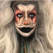 Gypsy Clown Makeup
