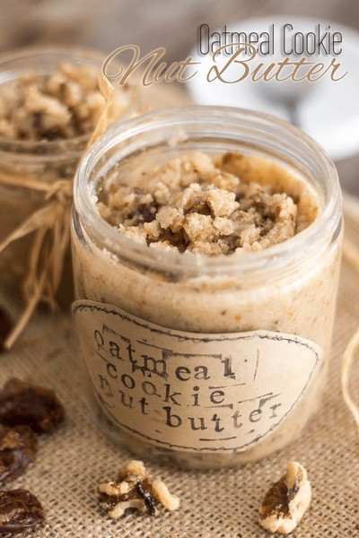 Try Oatmeal Cookie Nut Butter