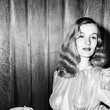 Veronica Lake's Shimmering Keyhole Dress and Waves