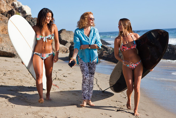 We Knew DVF Was a Surfer Chick at Heart