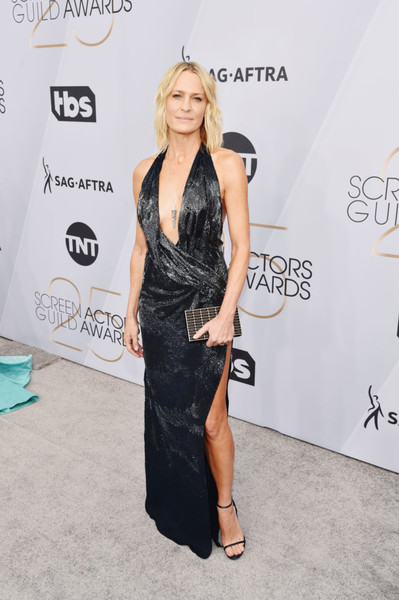Robin Wright In Oscar de la Renta