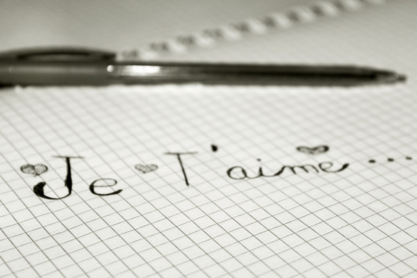 how to say i love you in french to a girl