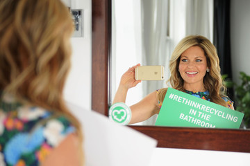 Candace Cameron Bure Talks 'Fuller House' and #RethinkRecycling
