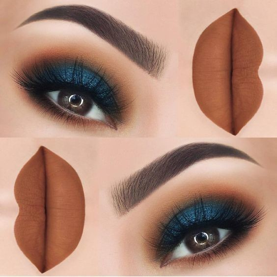 New makeup ideas for brown eyes