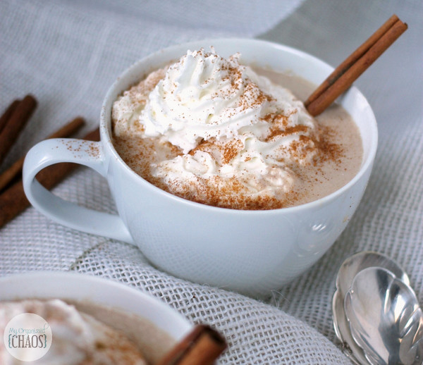 Slow Cooker Cinnamon Hot Chocolate