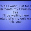 """My Only Wish (This Year)"" by Britney Spears"